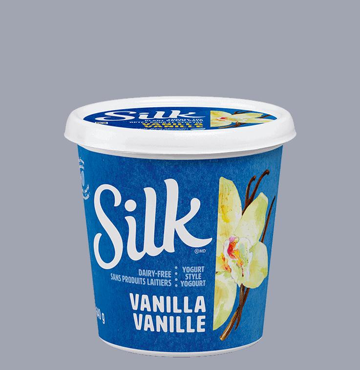 Substitut de yogourt aux amandes à saveur de vanille