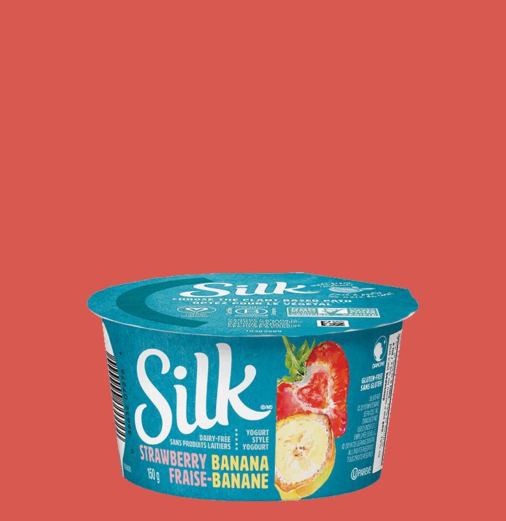 Strawberry Banana Coconut Yogurt Alternative
